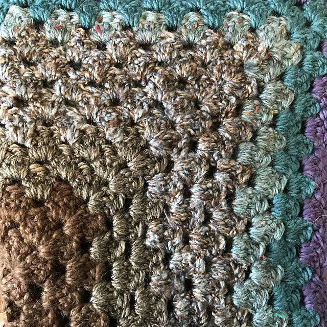 Granny Square Crochet Blanket Free Pattern