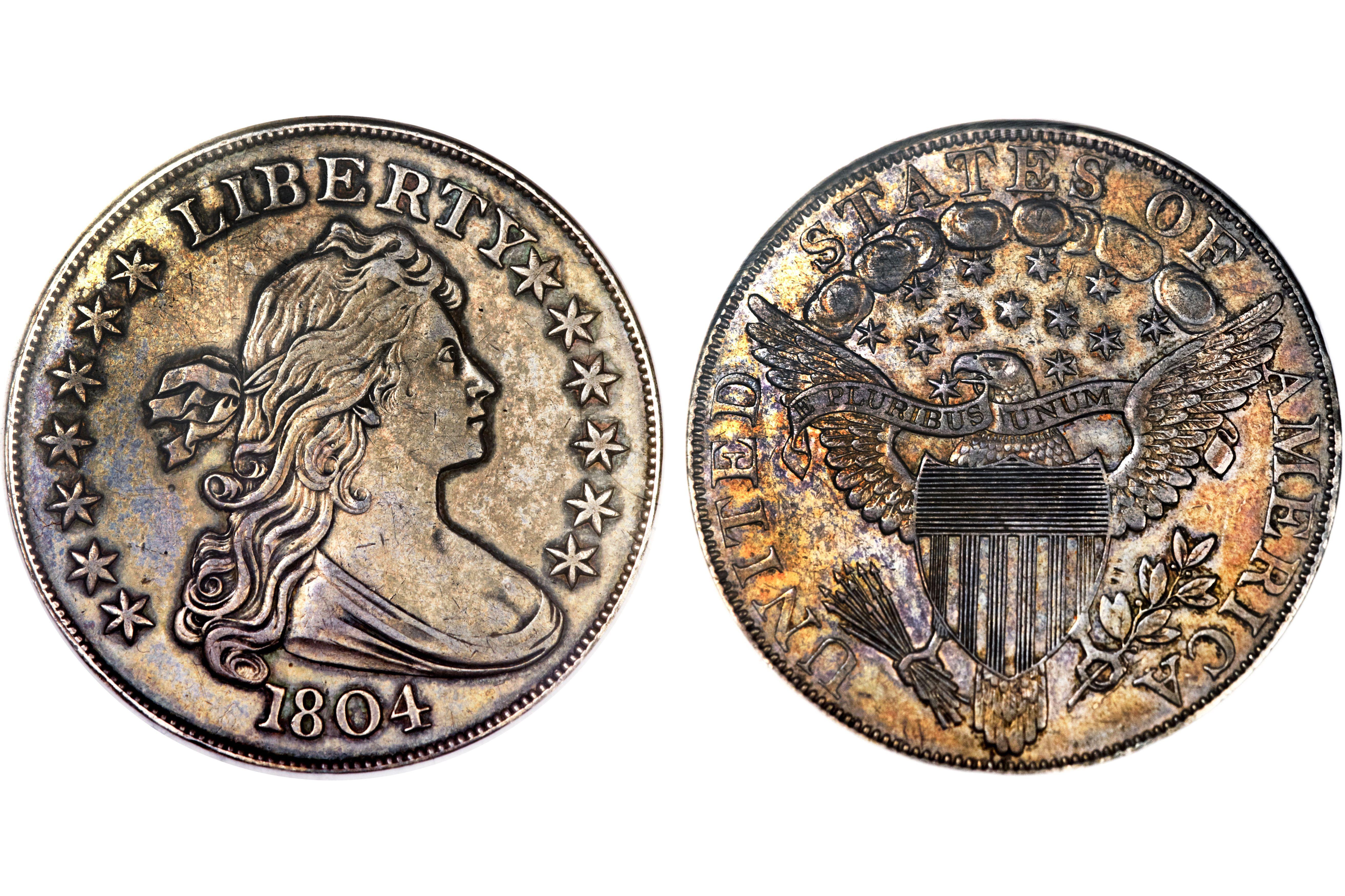 The Mickley-Hawn-Queller 1804 Silver Dollar