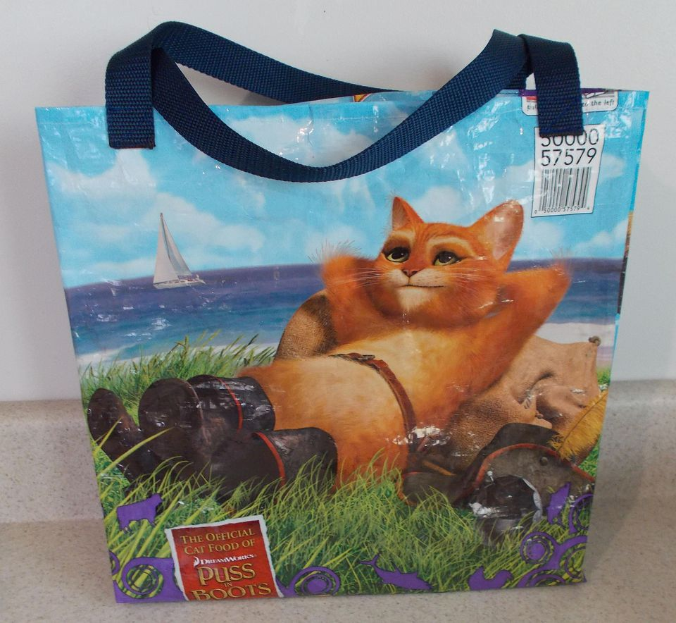 Cat food bag tote