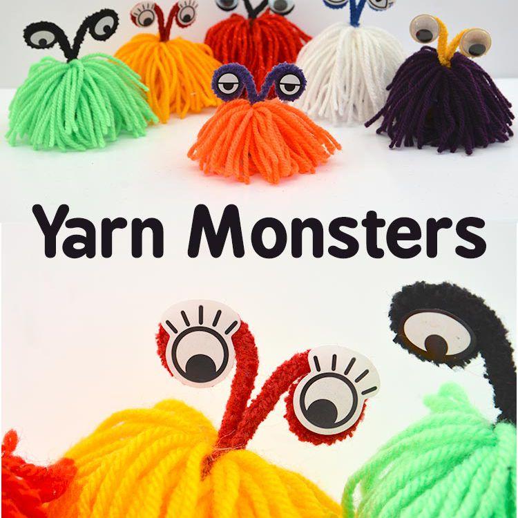 yarn monster craft