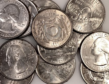 40 Coins Total A 2000 P /& D Massachusetts State Quarter BU 20P//20D US Roll