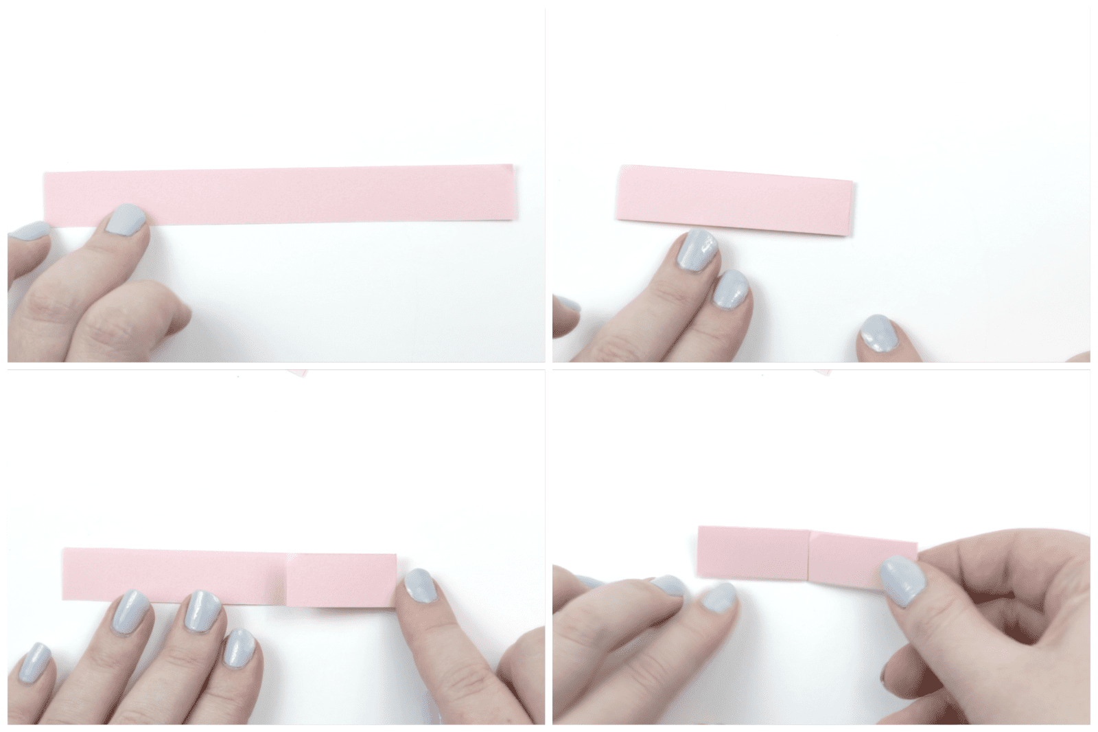 origami bracelet tutorial 01