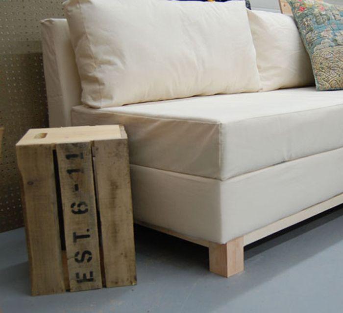 DIY Storage Sofa