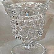 """Fostoria American Footed Goblet/Cocktail Glass 4"""""""