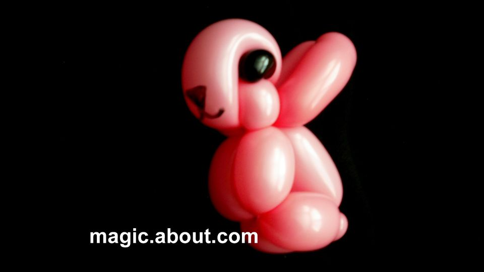 A Balloon Animal Rabbit