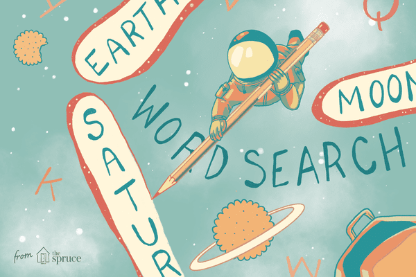 Astronaut illustration in space