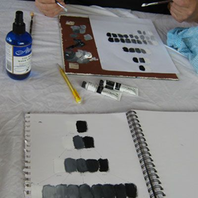 Tone painting worksheet
