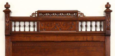Noting the Details. Eastlake Headboard - Identifying Eastlake Furniture From The Victorian Era