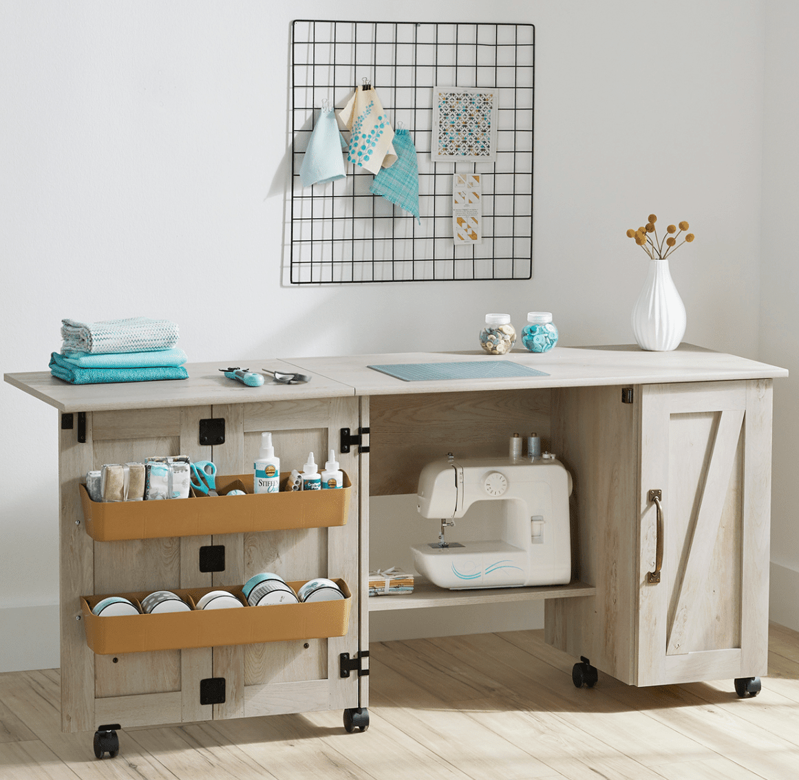 Better Homes & Gardens Modern Farmhouse Sewing Table
