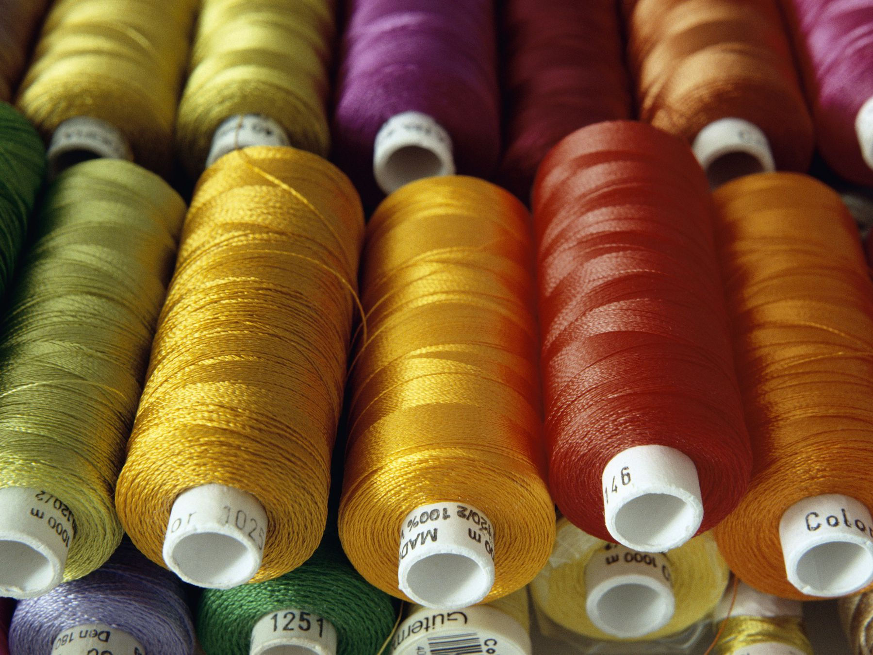 50 Different Colours 50 Variegated Art Silk//Rayon Stranded Embroidery Skeins