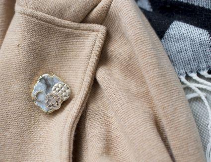 DIY brooch