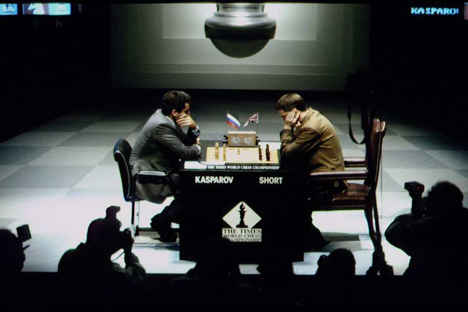 CHESS TOURNAMENT BETWEEN G. KASPAROV AND NIGEL SHORT