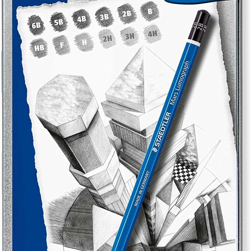 Staedtler Mars Lumograph Pencil Set