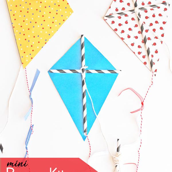 mini paper kite craft