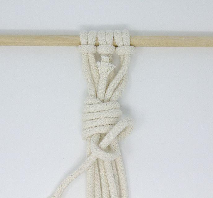 How to Macramé: 7 Basic Knots to Master