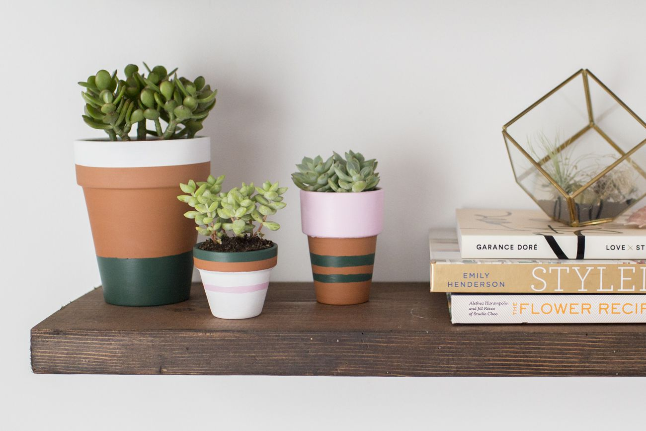 16 Diy Flower Pot Ideas To Showcase Your Plants