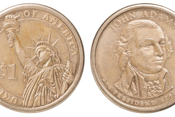 One US dollar coin
