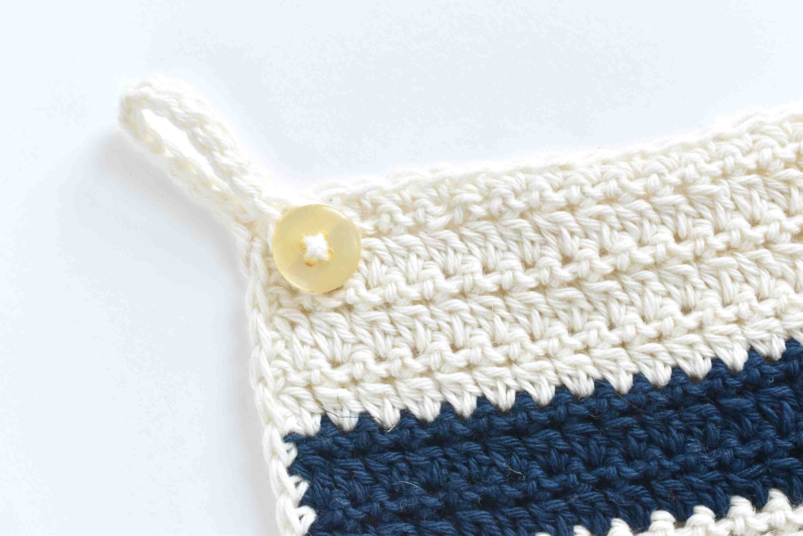 How To Make A Crochet Kitchen Towel