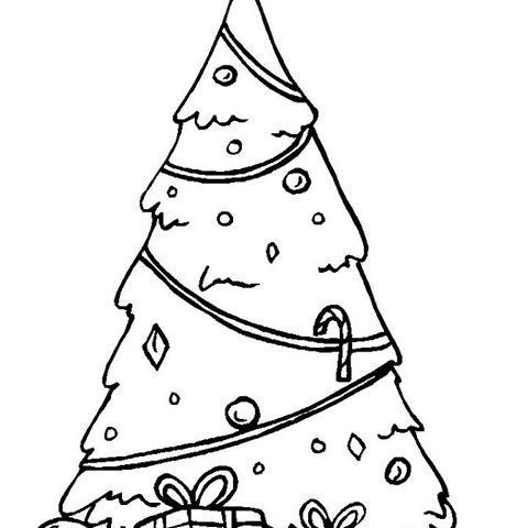Christmas Coloring Pages for Kids - Itsy Bitsy Fun | 480x480