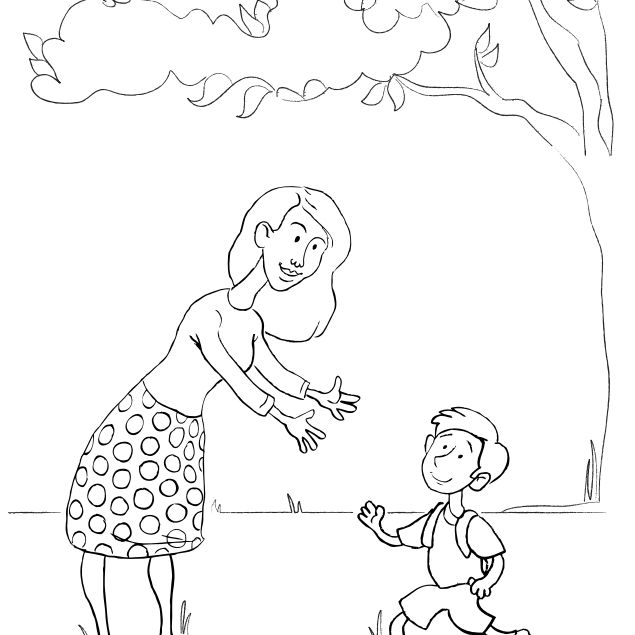 Free, Printable Mother's Day Coloring Pages