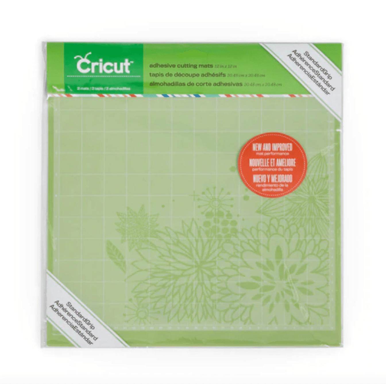 Cricut StandardGrip Cutting 12x12 3-Pack