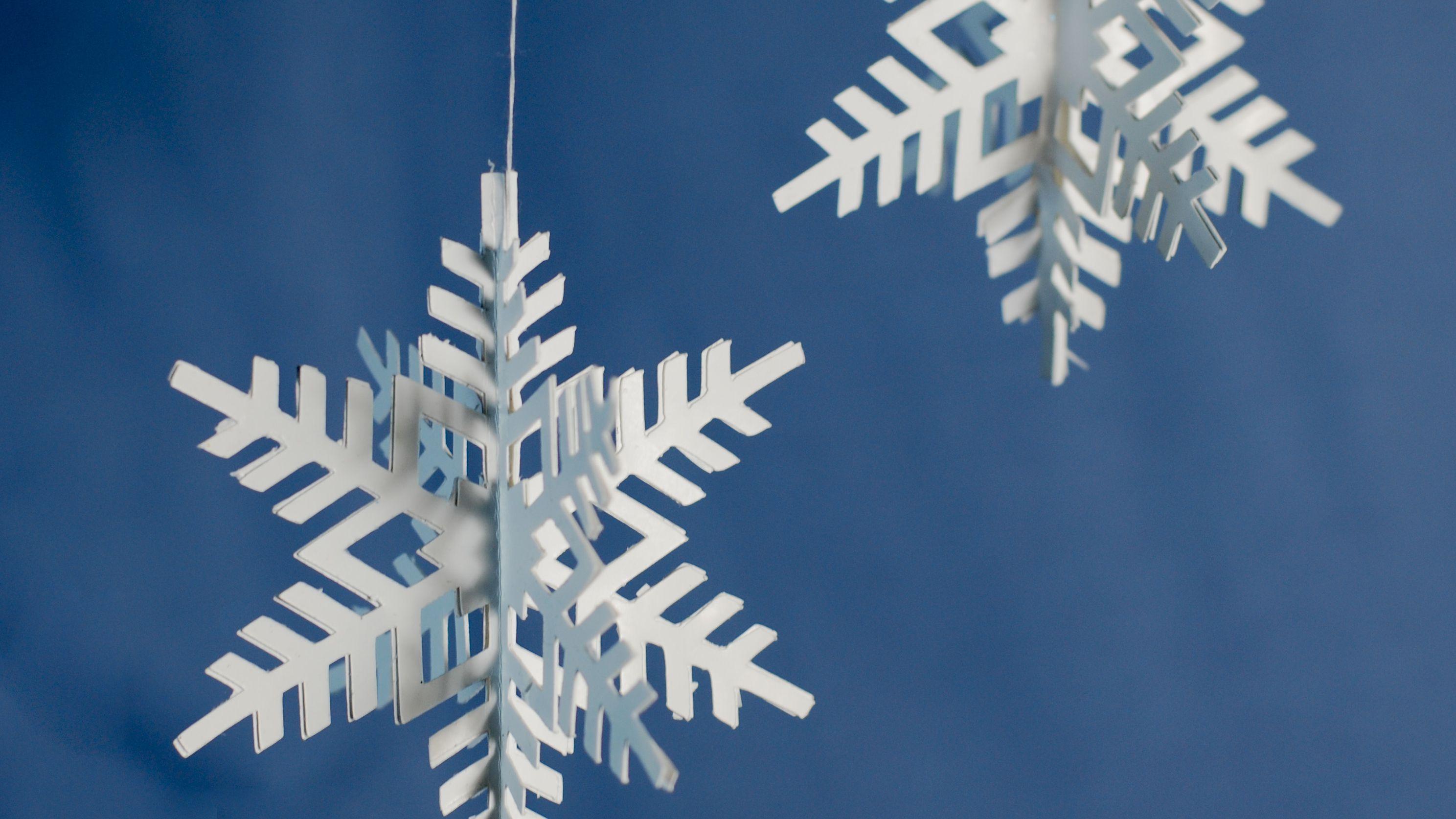 3D Paper Snowflakes   3d paper snowflakes, Paper snowflakes diy ...   1674x2976
