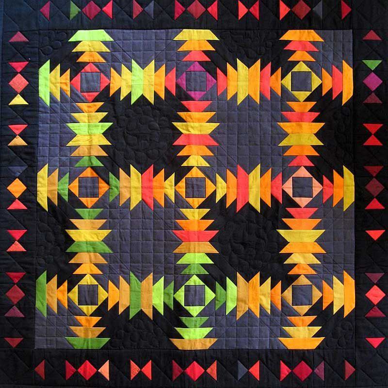 Anita's Tropical Pineapple Quilt