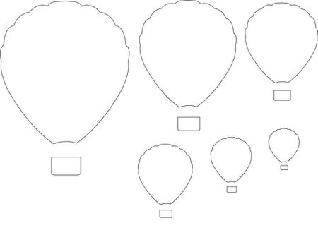 12 free printable templates hot air balloon printable template maxwellsz
