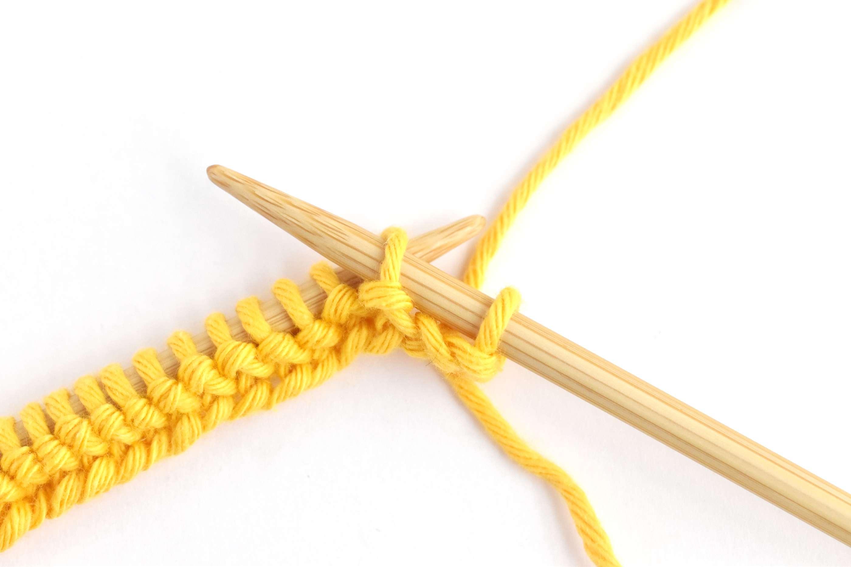 Honeycomb Stitch Row Two: Slipping a Stitch