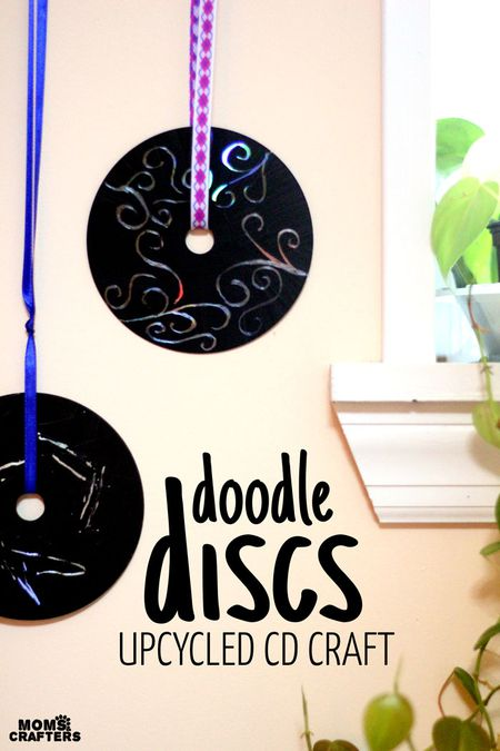 Old Cd Decorations Diy