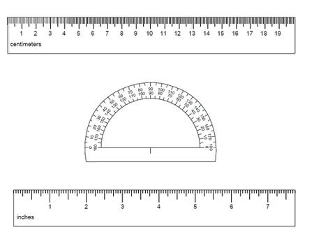 Fresh Inch Ruler Actual Size