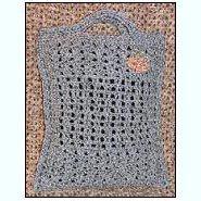 Shells and Mesh Flat Tote Bag by Sandi Marshall