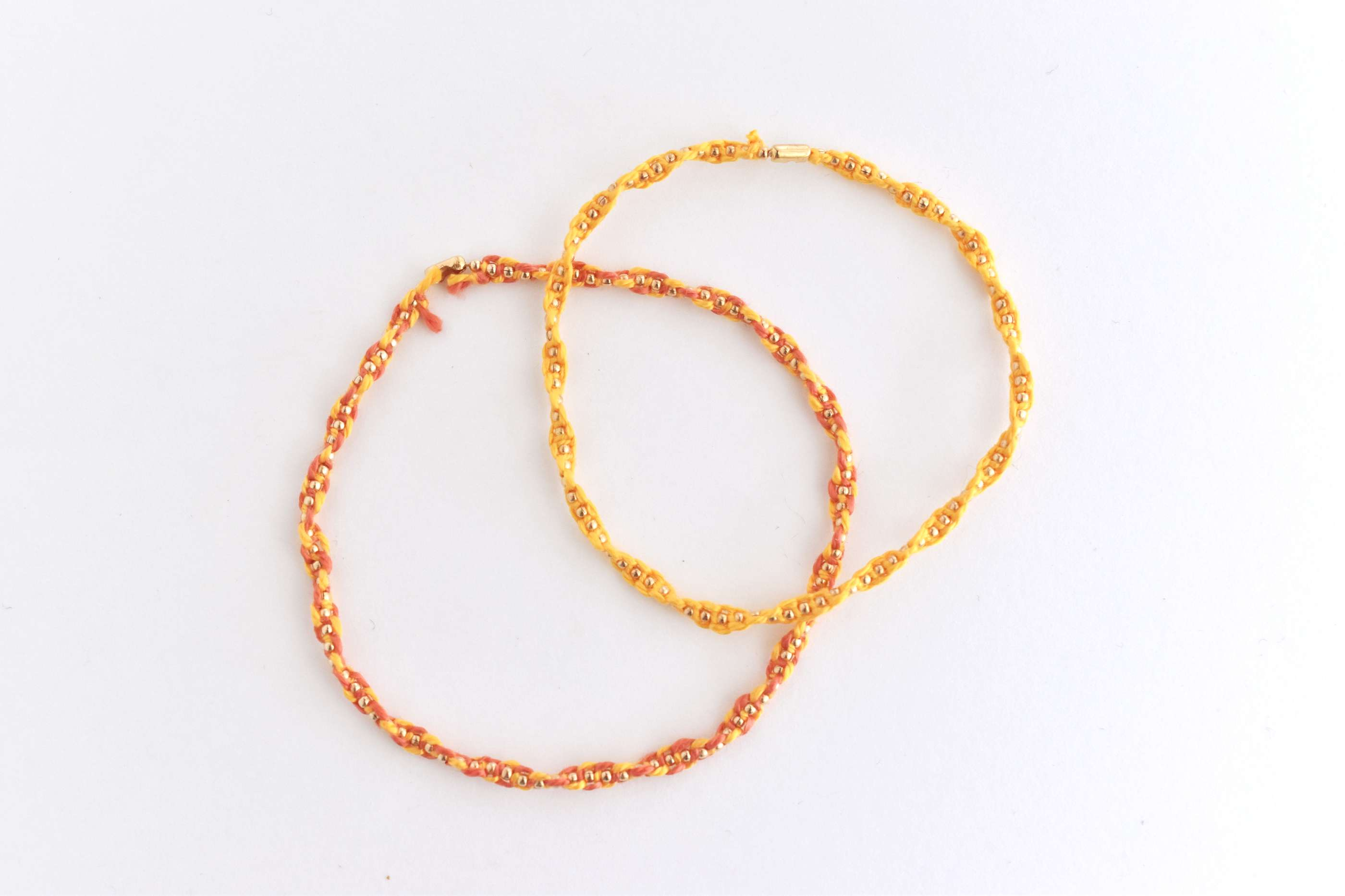 Knotted Chain Friendship Bracelets
