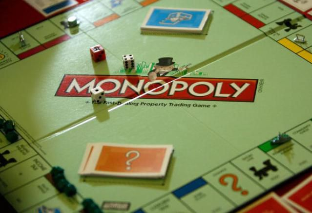 A Monopoly game as seen during the Monopoly U.S. National Championship tournament