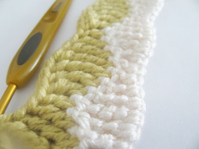 Tall, Wavy Stitch Pattern