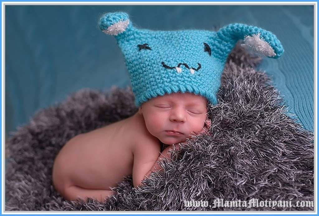 Buckteeth Bunny Baby Beanie