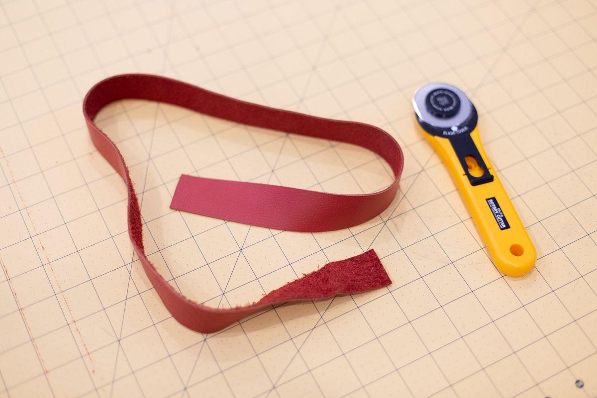 Leather for a DIY belt