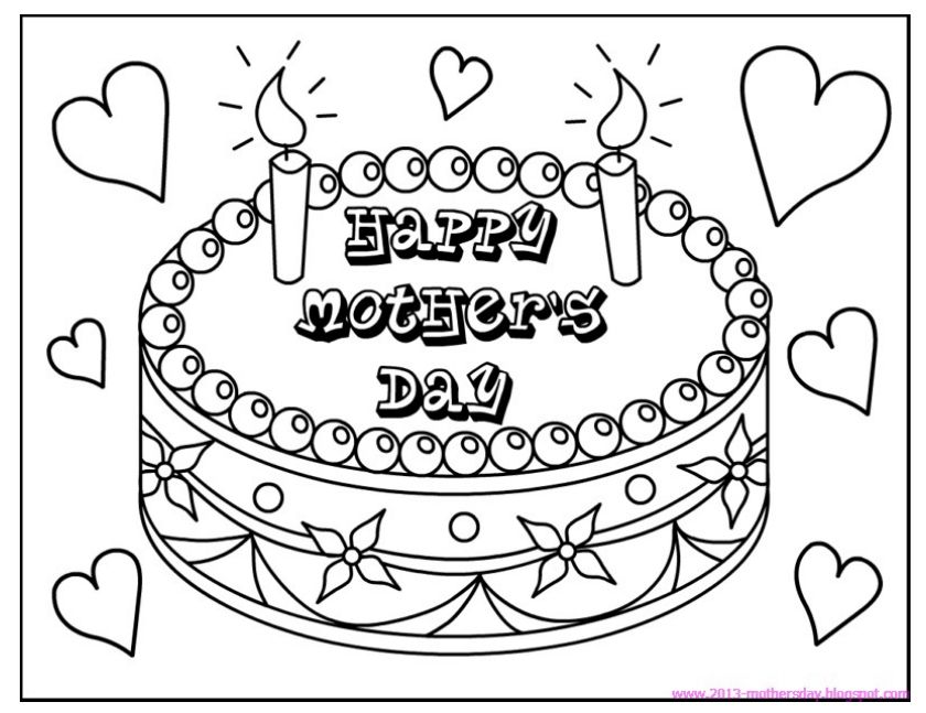 Free Printable Mother S Day Coloring Pages