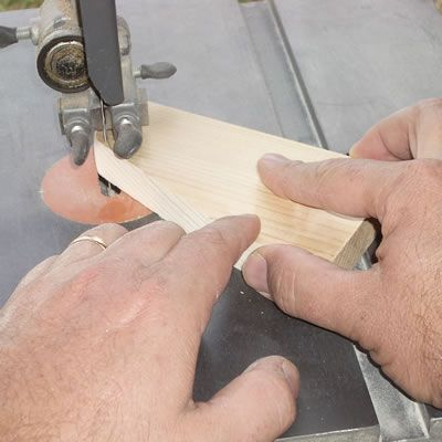 Cutting the Arm Rest Support