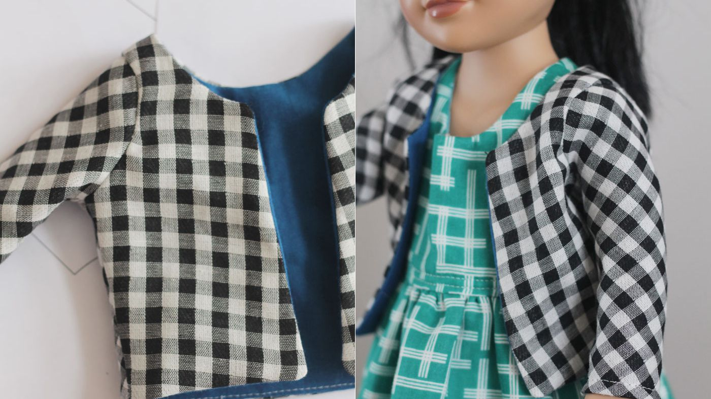 Vintage Easy to Sew Boy /& Girl Cloth Dolls Pattern