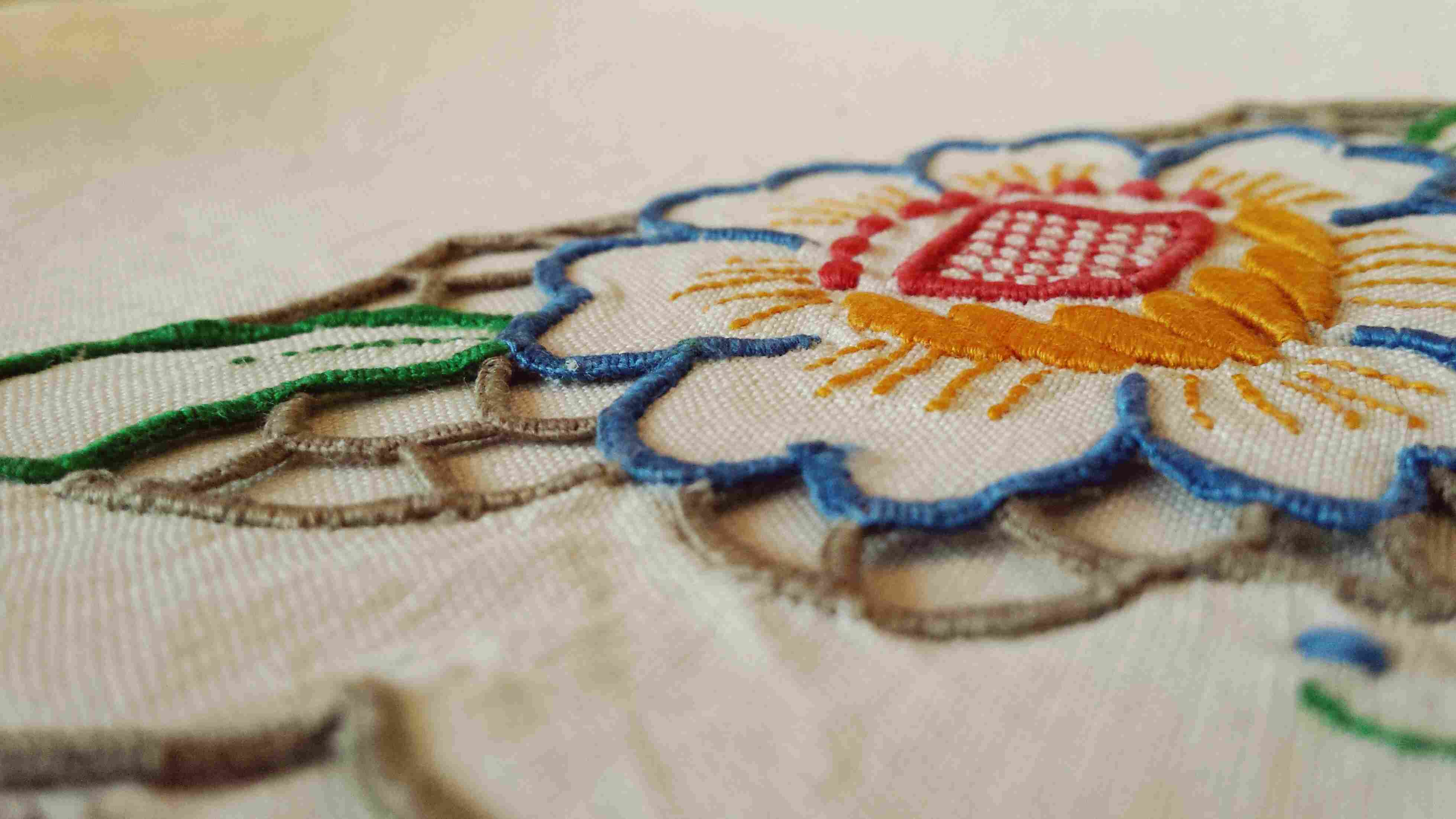 Embroidery on cloth