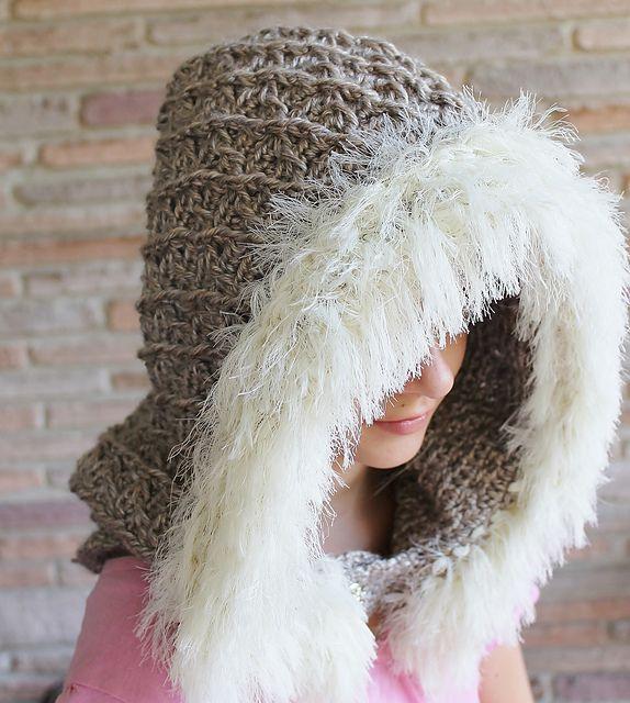Winter Braches Hood Crochet Pattern