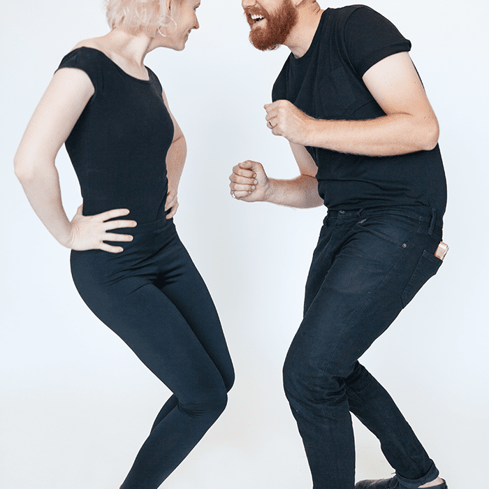 DIY Grease couples costume