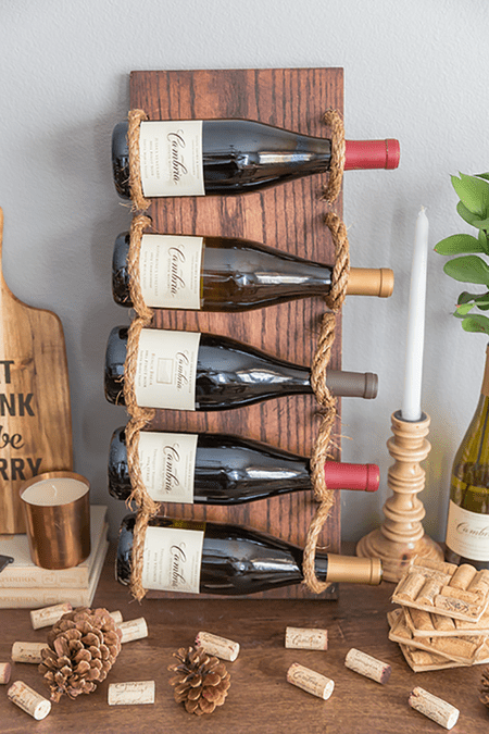 Incredible 10 Diy Wine Racks Anyone Can Make Download Free Architecture Designs Salvmadebymaigaardcom
