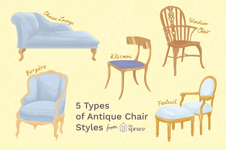 Identify Antique Furniture Chair Styles, Types Of Furniture Styles