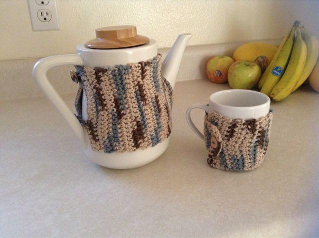 Teapot Wrap Free Crochet Pattern