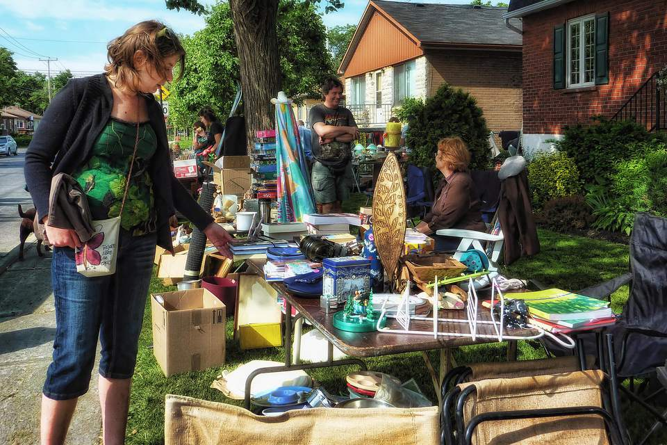 Yard Sale Shopping