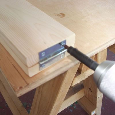 attaching a hinge