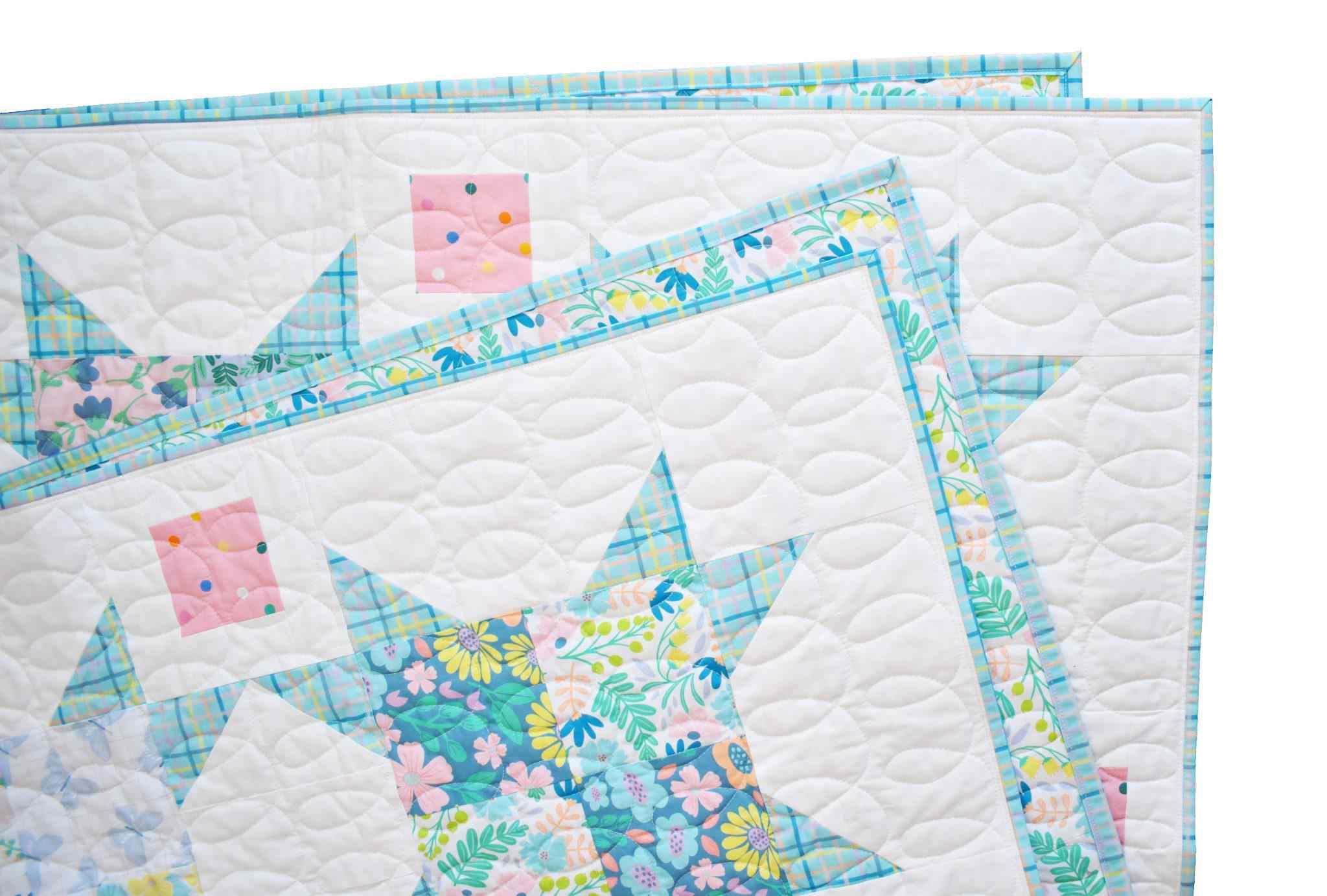 Summer Glow Quilt Pattern