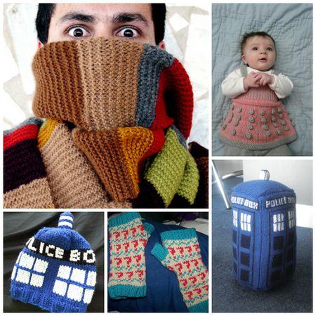 Must Knit Geek Knitting Patterns